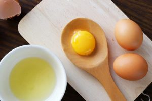 маска за лице с яйца
