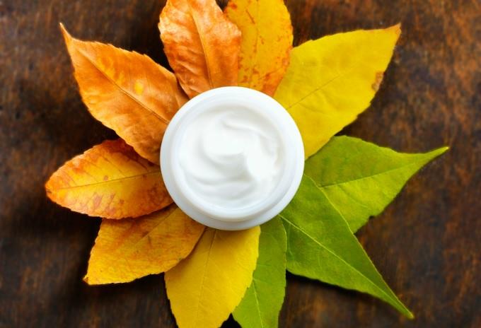 Есента и кожата на лицето