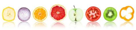 Вътрешно хранене на кожата чрез пресни плодове и зеленчуци
